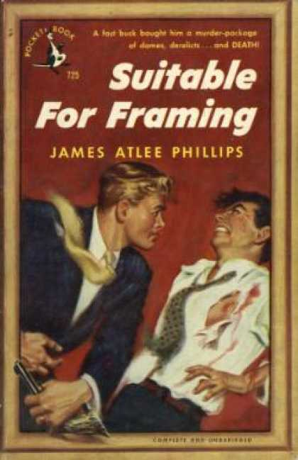 Pocket Books - Suitable for Framing - James Atlee Phillips