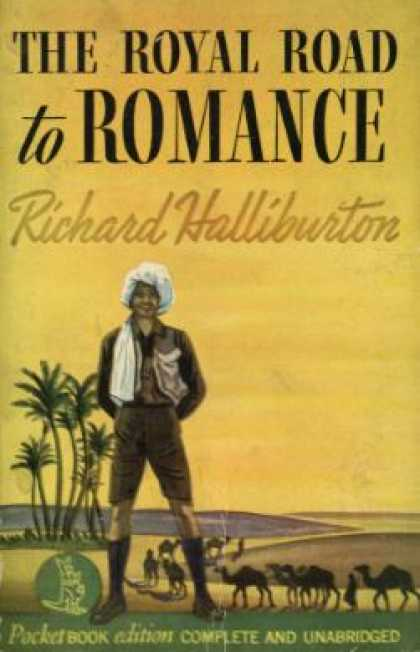 Pocket Books - The Royal Road To Romance - Richard Halliburton