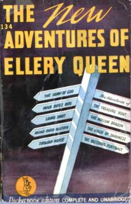 Pocket Books - The New Adventures of Ellery Queen