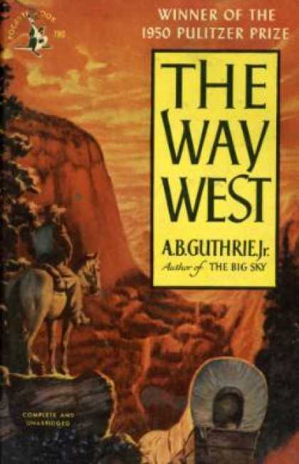 Pocket Books - The Way West - A. B. Guthrie