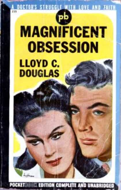 Pocket Books - Magnificent Obsession - Lloyd C Douglas