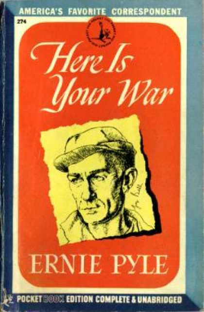 Pocket Books - Here Is Your War - Ernie Pyle