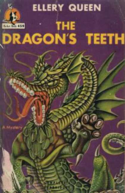 Pocket Books - The Dragon's Teeth - Ellery Queen