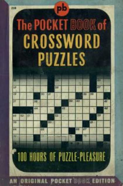 Pocket Books - The Pocket Book of Crossword Puzzles - Margaret Petherbridge