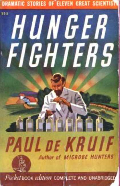 Pocket Books - Hunger Fighters ~ Dramatic Stories of Eleven Great Scientists