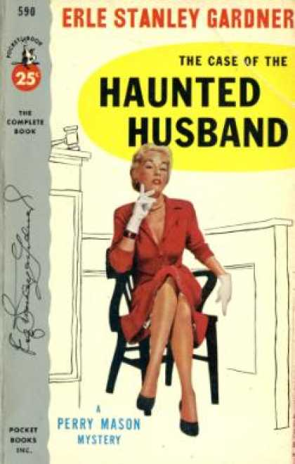Pocket Books - The Case of the Haunted Husband - Erle Stanley Gardner