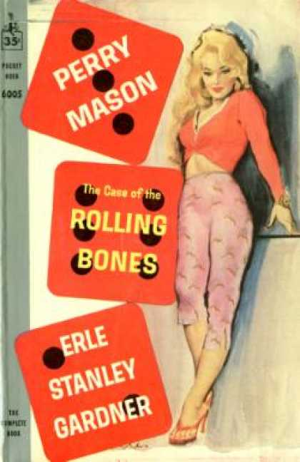 Pocket Books - The Case the Rolling Bones - Perry Mason - Erle Stanley Gardner