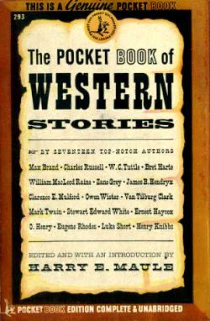 Pocket Books - The Pocket Book of Western Stories - Harry Maule