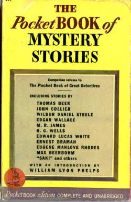 Pocket Books - The Pocket Book of Mystery Stories - Lee, Ed.; With an Introduction By William L