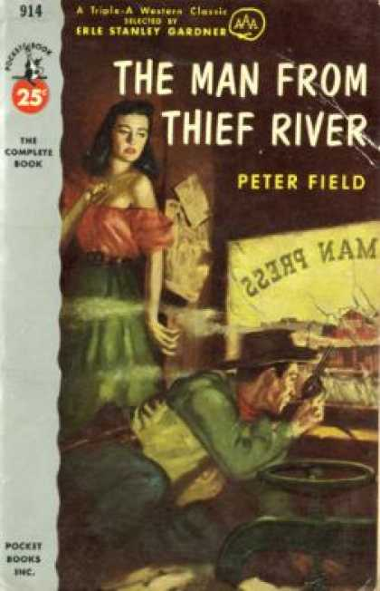 Pocket Books - The Man From Thief River - Peter Field