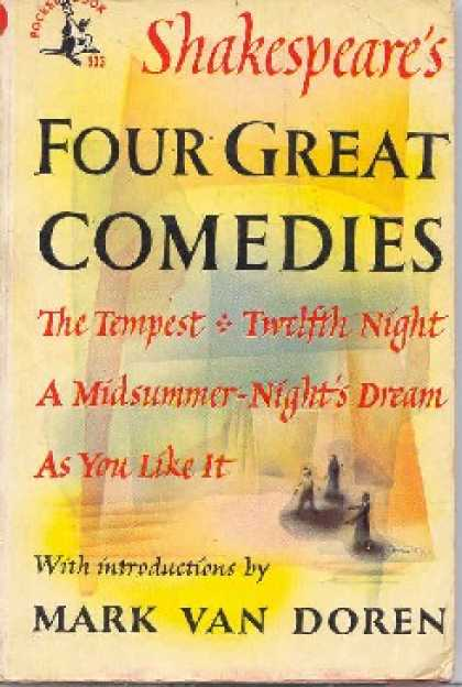 Pocket Books - Shakespeare's Four Great Comedies: The Tempest, Twelfth Night, a Midsummer-night