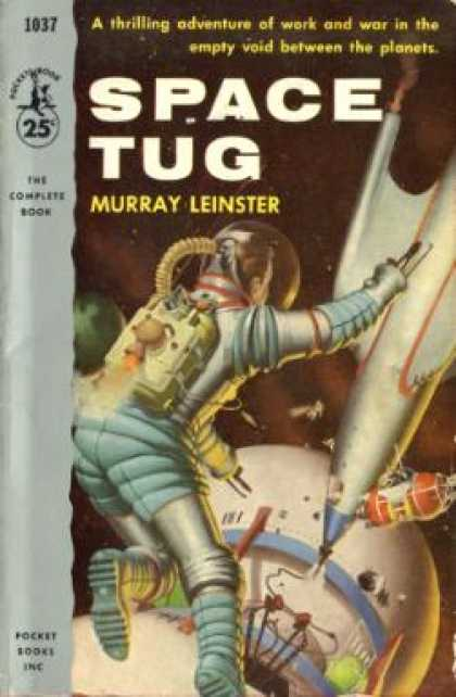 Pocket Books - Space Tug - Murray Leinster