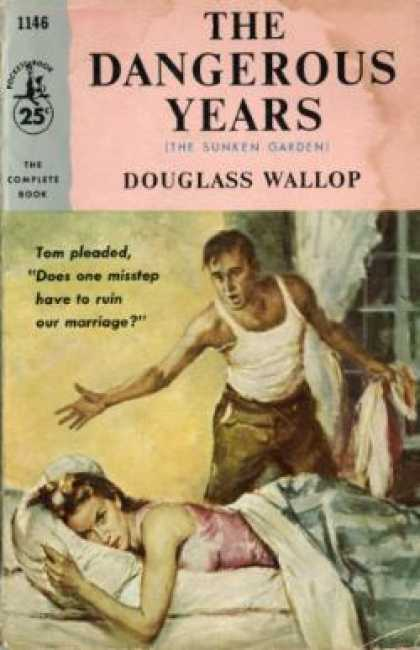Pocket Books - The Dangerous Years - Douglass Wallop
