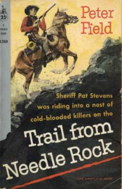 Pocket Books - Trail From Needle Rock a Powder Valley Western - Peter Field