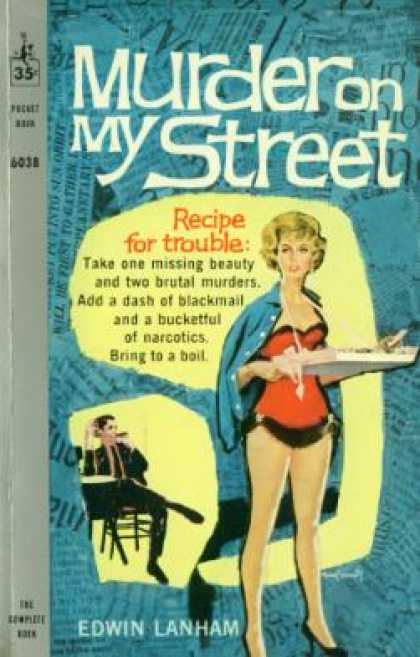 Pocket Books - Murder On My Street - Edwin Lanham