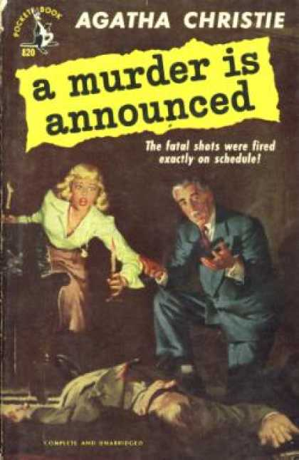 Pocket Books - A Murder Is Annouced - Agatha Christie
