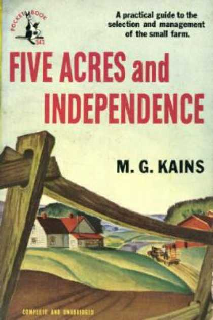 Pocket Books - Five Acres and Independence - M. G. Kains