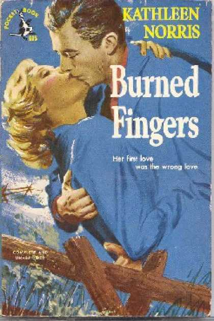 Pocket Books - Burned Fingers - Kathleen Norris