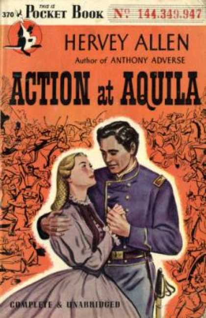 Pocket Books - Action at Aquila - Hervey Allen