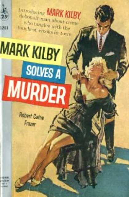 Pocket Books - Mark Kilby Solves a Murder