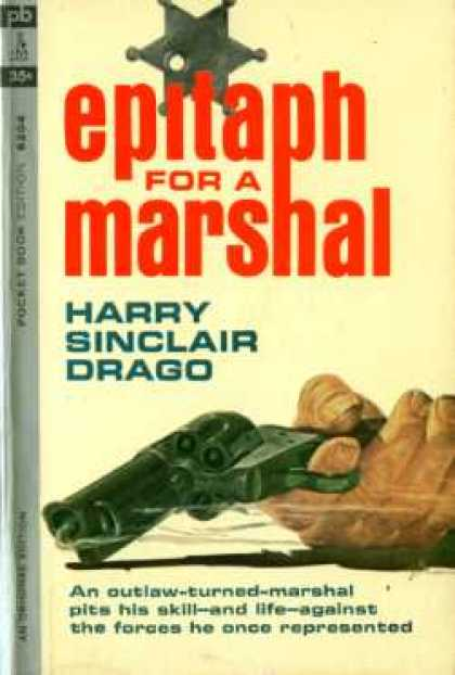 Pocket Books - Epitaph for a Marshal - Harry Sinclair Drago