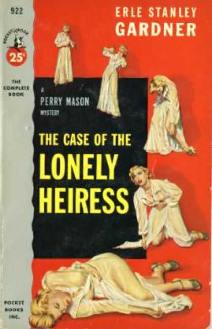 Pocket Books - The Case of the Lonely Heiress; a Perry Mason Mystery - Erle Stanley Gardner