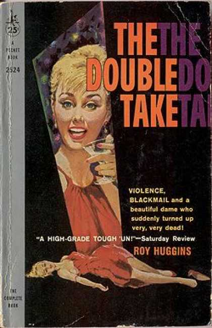 Pocket Books - The Double Take - Roy Huggins