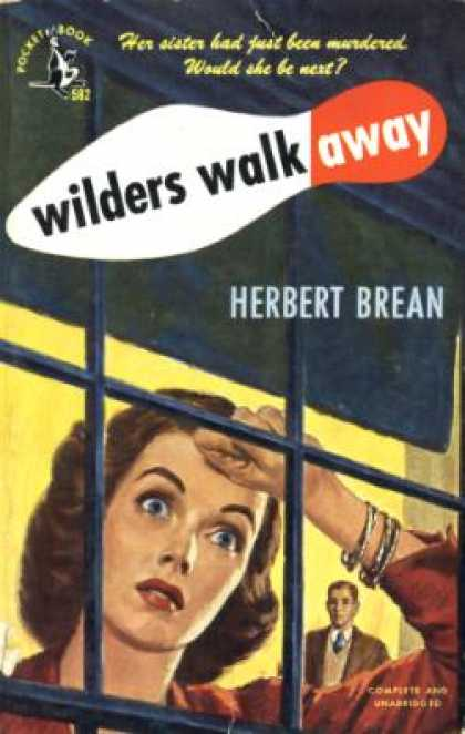 Pocket Books - Wilders Walk Away - Herbert Brean