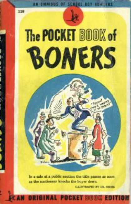 Pocket Books - The Pocket Book of Boners