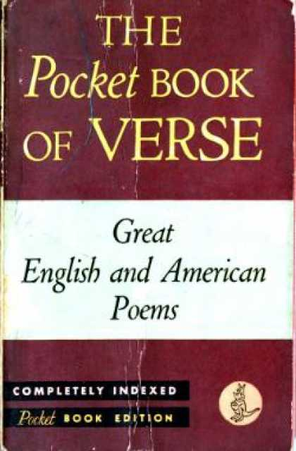 Pocket Books - The Pocket Book of Verse - Great English and American Poems