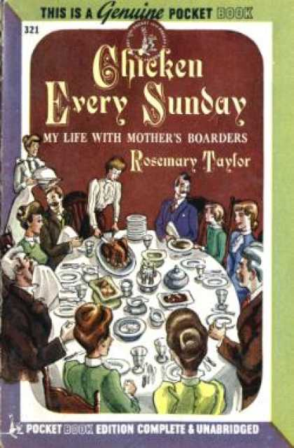 Pocket Books - Chicken Every Sunday, My Life With Mother's Boarders - Rosemary Taylor