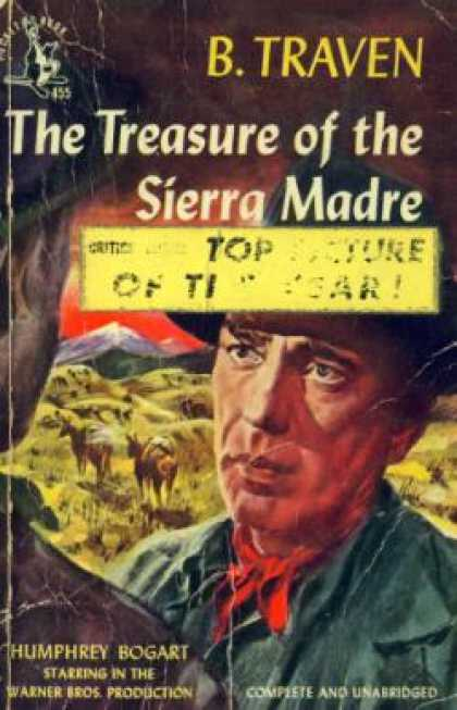 Pocket Books - The Treasure of the Sierra Madre - B Traven