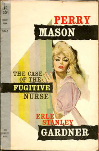 Pocket Books - The Case of the Fugitive Nurse