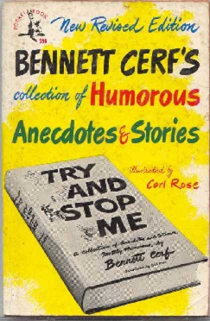 Pocket Books - Try and Stop Me: A Collection of Anecdotes and Stories, Mostly Humorous - Bennet