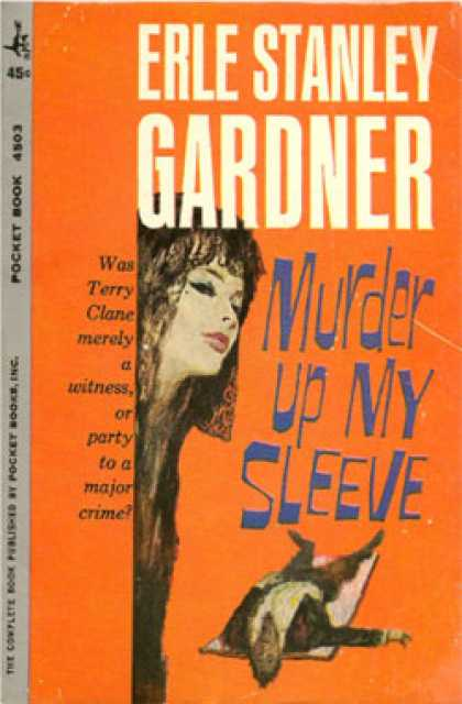 Pocket Books - Murder Up My Sleeve - Erle Standly Gardner