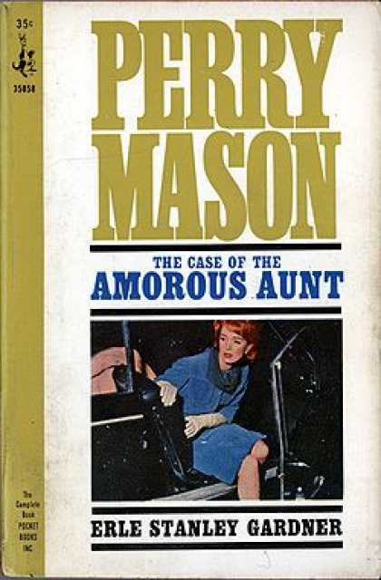 Pocket Books - Perry Mason : The Case of the Amorous Aunt