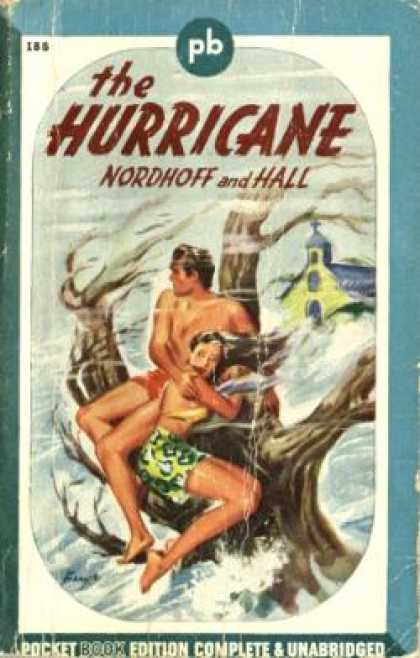 Pocket Books - The Hurricane - Charles Nordhoff