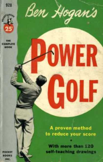 Pocket Books - Ben Hogans Power Golf - Ben Hogan