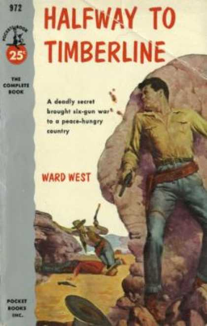 Pocket Books - Halfway To Timberline - Ward West