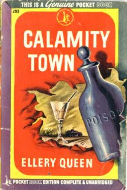 Pocket Books - Calamity Town - Ellery Queen