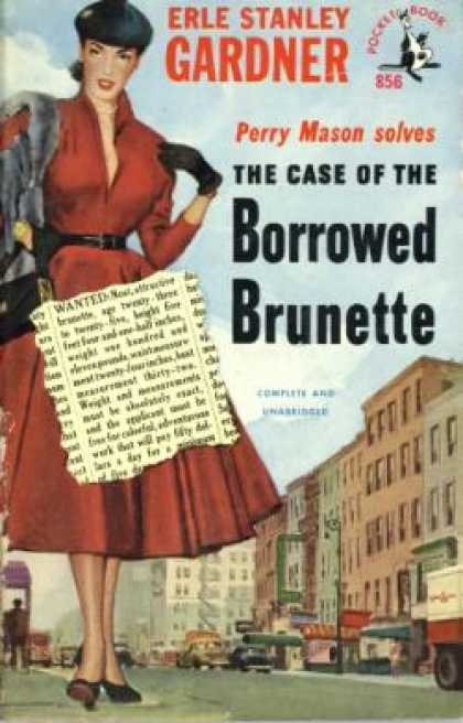 Pocket Books - The Case of the Borrowed Brunette