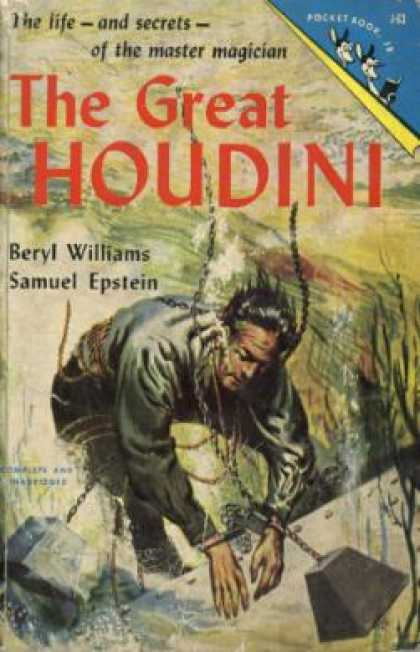Pocket Books - The Great Houdini: Magician Extraordinary - Beryl Williams