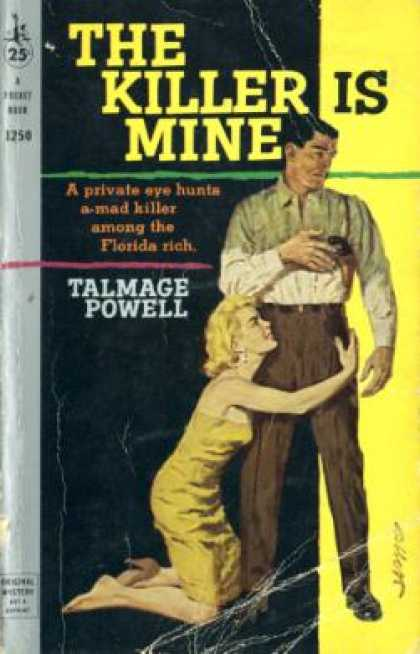 Pocket Books - The Killer Is Mine - Talmage Powell