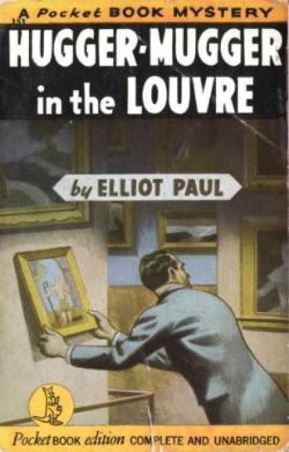 Pocket Books - Hugger-mugger In the Louvre - Elliot Paul