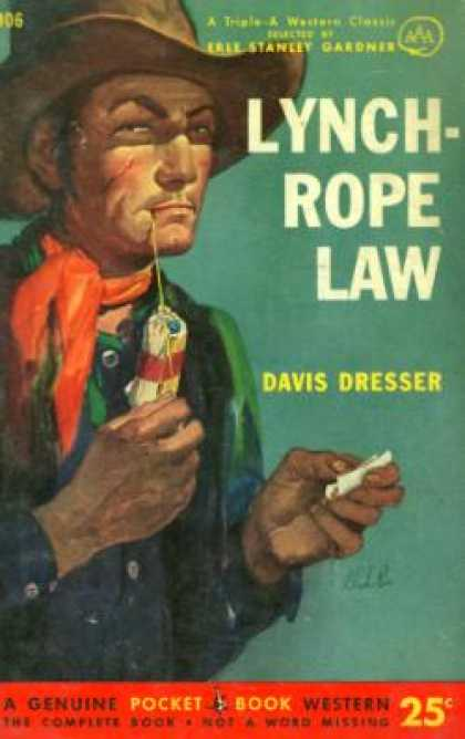 Pocket Books - Lynch-rope Law - Davis Dresser