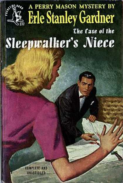 Pocket Books - The Case of the Sleepwalker's Niece