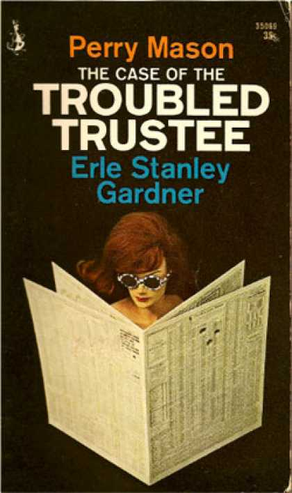Pocket Books - Perry Mason the Case of the Troubled Trustee - Erle Stanley Gardner