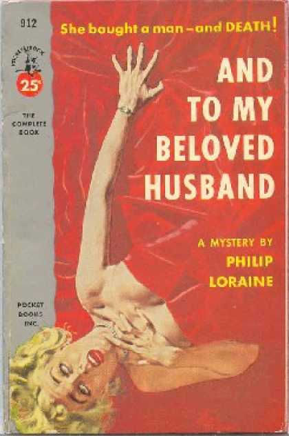 Pocket Books - And To My Beloved Husband - Philip Loraine