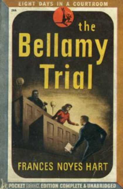 Pocket Books - The Bellamy Trial - Frances Noyes Hart