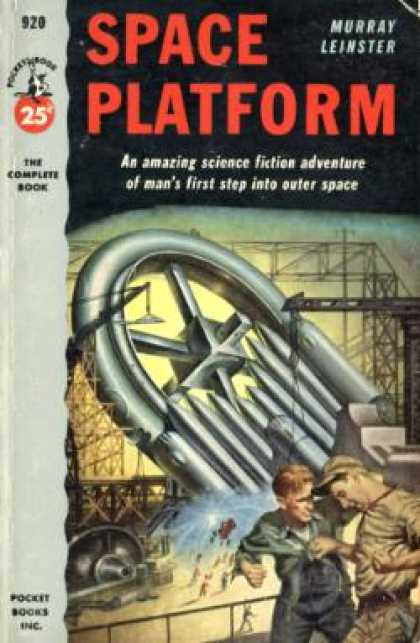Pocket Books - Space Platform 1st Edition Thus - Murray Leinster